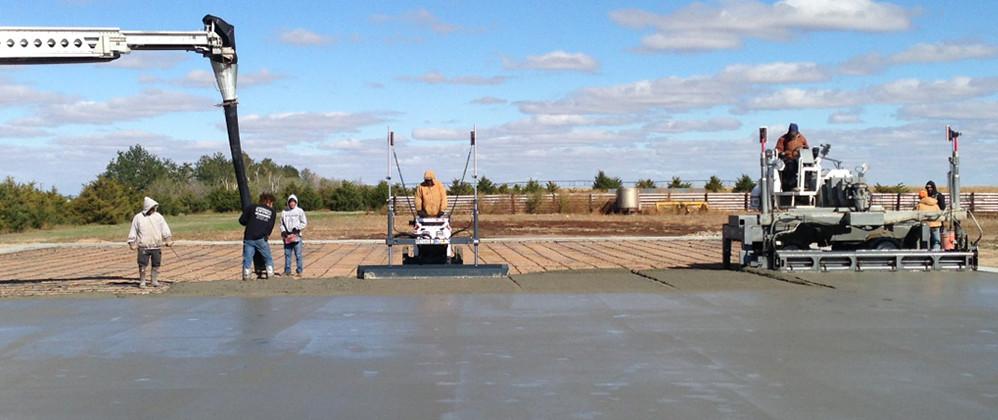 Steel Building Concrete Services