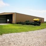 Steel Truck Garages by Topline Steel Buildings