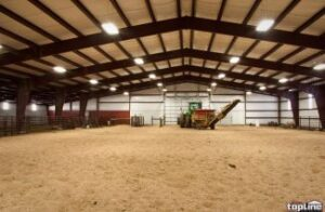 steel riding arena