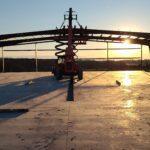 steel building process